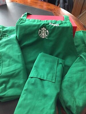 "Starbucks Barista Apron ""Game Used"" Appron"