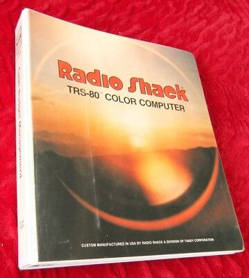 Cash Budget Management program for the Tandy TRS-80 Color Computer 1 2 3