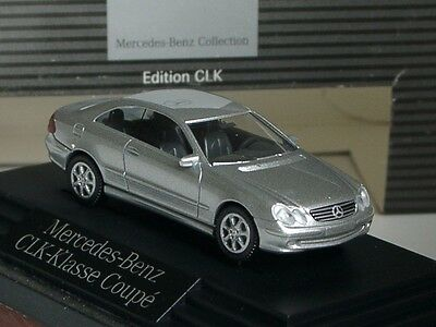 Wiking Mercedes CLK Coupe, silber - dealer PC 1330 - 1:87