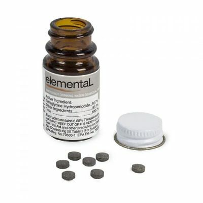 Elemental, Drinking Water Germicidal Tabs Part No. GMA1400