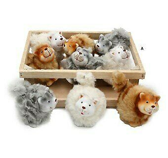 Want Home & Gift  Colour Cats -set of 9