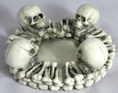 Large Skull Smoke Ashtray Cigarette Tobacco Best Gift Home Decor #A4