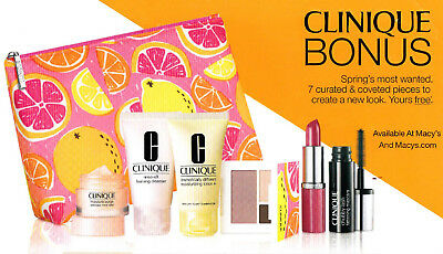 Clinique 7-Piece Gift With Purchase (GWP) Spring Nudes / $70