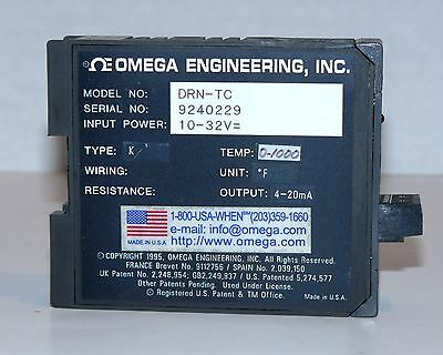 OMEGA ENGRG DRN-TC THERMOCOUPLE INPUT SIGNAL CONDITIONER w/RS232C COMM