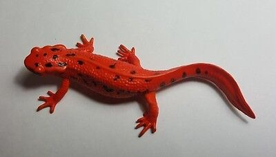 2015 KITAN CLUB Japanese fire belly newt red ver.PVC mini figurine figure