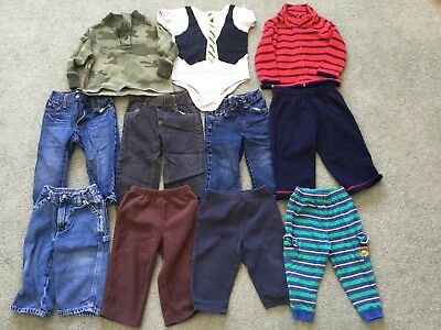 Baby Boy Jeans/Shirts Clothes Bundle (Size 12-24 Months)