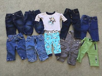 Baby Boy Jeans/PJs Clothes Bundle (Size 3-6 Months)