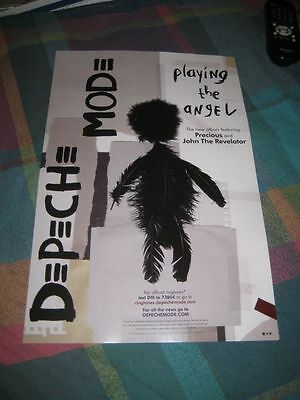 DEPECHE MODE-(playing the angel)-1 POSTER-SINGLE SIDED-11X17-MINT-RARE