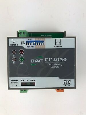 DAE CC2030 Gateway, For DAE Cloud Metering Solutions on Water and Electricity