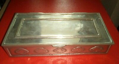 Wonderful Antique Covered Dish Portugal Pewter 95 Multiple Hallmarked