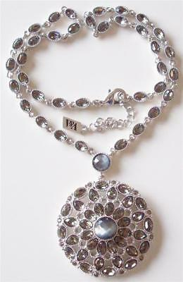 V & A The Victoria & Albert Museum, Beautiful Crystal Drop Necklace Rrp £290