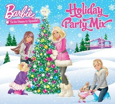 Barbie Holiday Party Mix Music CD for Girls Kids Children