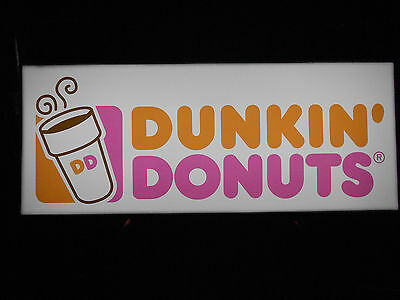 Dunkin Donuts Lighted Sign