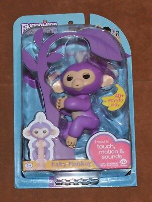Authentic Wowwee Fingerlings Interactive Baby Monkey