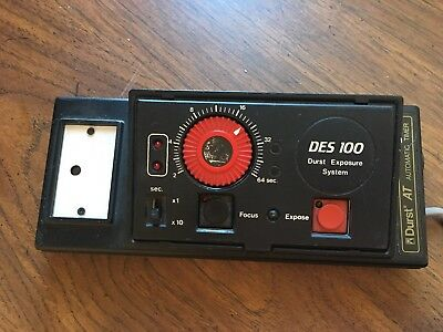 DURST AT Timer Automatic ENLARGER SWITCH TIMER L-1200 CLS500 CLS501