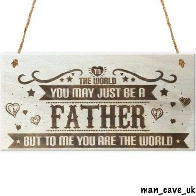 Dad, Sign, Plaque, Shed, Garage, Man Cave, Workshop, Sentimental Gift