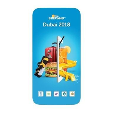 Entertainer Dubai 2018 with Fine Dining, SPA, Cheers And Hotels 7 day App Rental