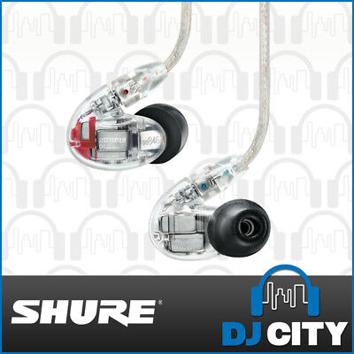 Shure SE846 Sound Isolating Earphones Professional In-ear Monitors – Clear