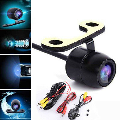 1x 170° CCD Rear View Reverse Backup Parking Camera IR Night Vision Waterproof