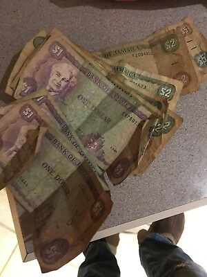 Jamaican currency - Paper Money