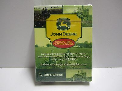 Vintage John Deere Tractor Playing Cards  MINT SEALED Never opened