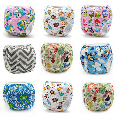 UK Swim Nappy Diaper Leakproof Reusable Adjustable Baby Infant Boy Girl Toddler