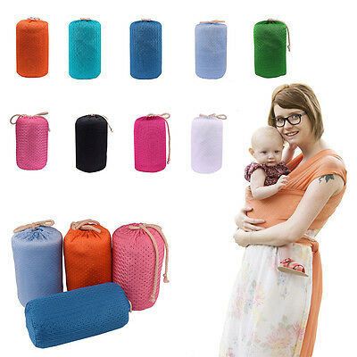 Baby Liberty Sling Breathable Nursing Breastfeeding Cover Stretchy Wrap Carrier