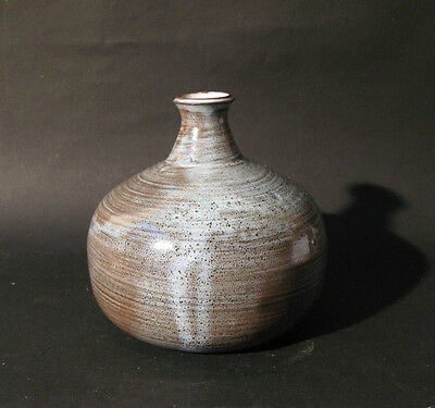 Vase bouteille Roger Collet Vallauris.