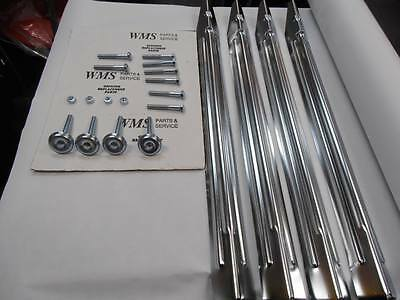 Ultimate Chrome Plated Pinball Leg Package Genuine Parts Mr Pinball