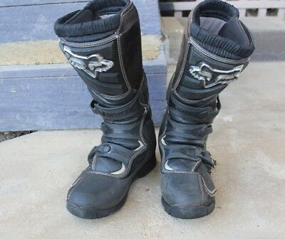 Fox Motor Cross Boots  Size 10  Mens