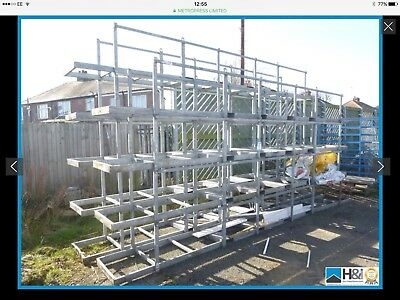 Steel Stillages,stacking 6m long