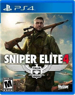 Sniper Elite 4 PS4 Playstation 4 Brand New In Stock Dispatched From Brisbane
