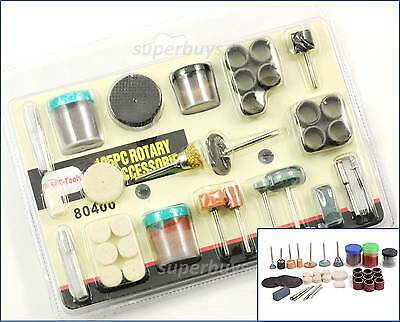 105pc Rotary Drill Bit Die Grinder Tool Set Stone Buffing Polish Grinding Buffer