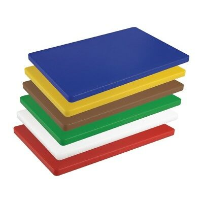 Hygiplas Thick Low Density Chopping Board Cutting Slicing Restaurant Kitchenware