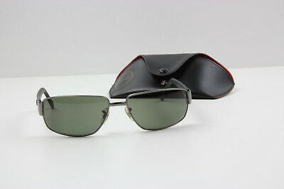 c5b1fd8321ca2 Ray Ban RB3189 Leather II 2 Sonnenbrille Sunglasses Polarized Made in Italy
