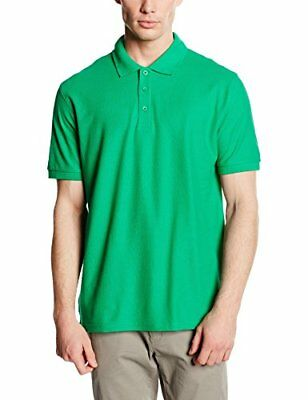 Fruit of the Loom SS035M, Polo Homme - Vert Kelly XX-Large