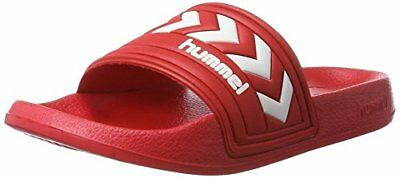 Hummel Larsen Slipper SMU Mocassini Unisex Adulto Rosso True Red J4L