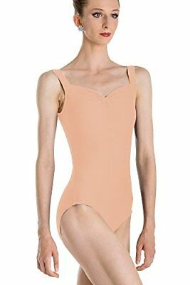 Wear Moi Faustine Justaucorps Femme, Peach, FR : S (Taille Fabricant : S)