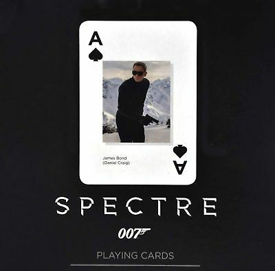 James Bond 007 SPECTRE Spielkarten