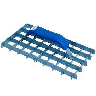 Rendering lattice plane render mortar K-rend, steel float, Rubber handle, 11""
