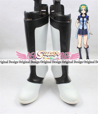 Cross Ange Salia Boot Party Shoes Cosplay Boots Custom-made