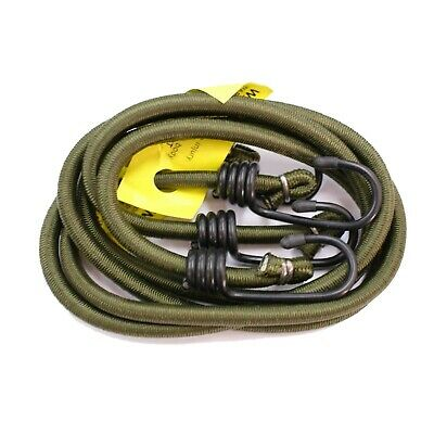2 x Bungee Cords Emergency Camping Army Military Style Cadet Survival Elastic