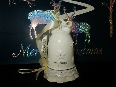Pandora Christmas  Bell Ornament 2017 -  Limited Edition 2017