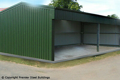 Premier,Steel,Buildings,Open sided Shed, Custom Made