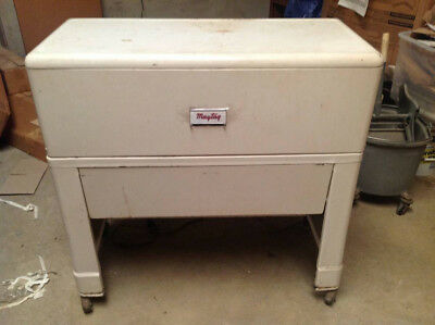 Vintage Mangle Maytag Ironer Model B-10 cEarly 1950's Freestanding 35x16x34