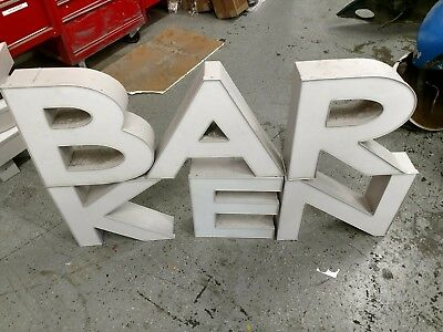 Large Channel Letters