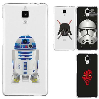 Coque rigide transparente pour Xiaomi Mi 4 - Collection : Stars