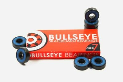 BULLSEYE Bearings ABEC-7 Skateboard Kugellager / Auch für Longboards & Cruiser
