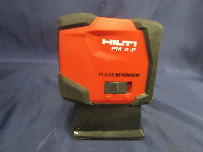 Hilti Pm 2-P Plumb Laser 2 Point Laser With Case