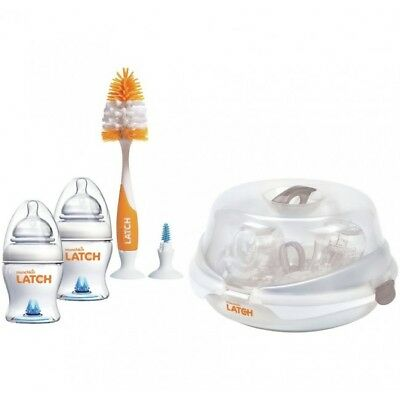Munchkin Latch Microwave Baby Sterilier Starter Kit - Warehouse clearance